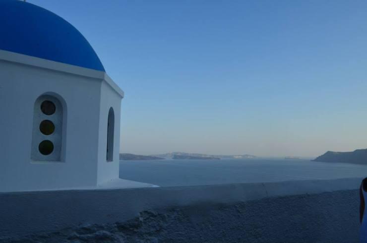 Oia town, Santorini Greece