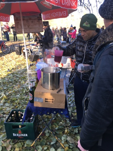 Mulled wine!