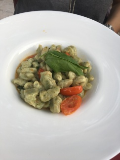 the gnocchi was delicious