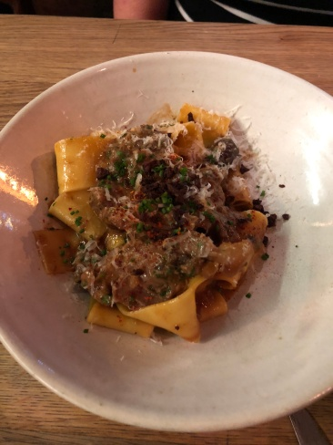 lamb pasta at Frenchie