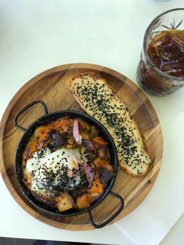 Shakshuka & Iced Coffee