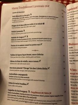 traditional lyonnais dishes