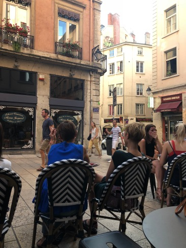 cafe culture is my favorite thing about France