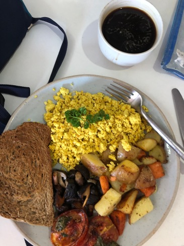 Vegan breakfast from Coconut Monkey